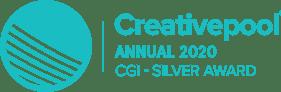 creativepool silver winner logo