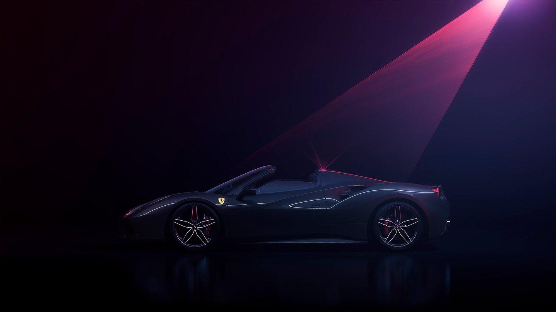 Ferrari 488 Spider Laser final 3