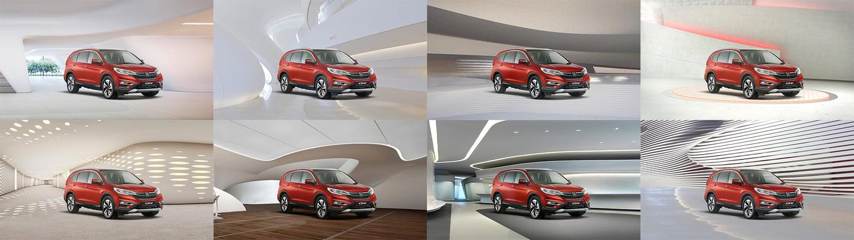 Honda Real View Test Drive Layouts
