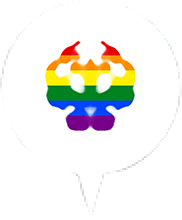 Map pin_Pride Month