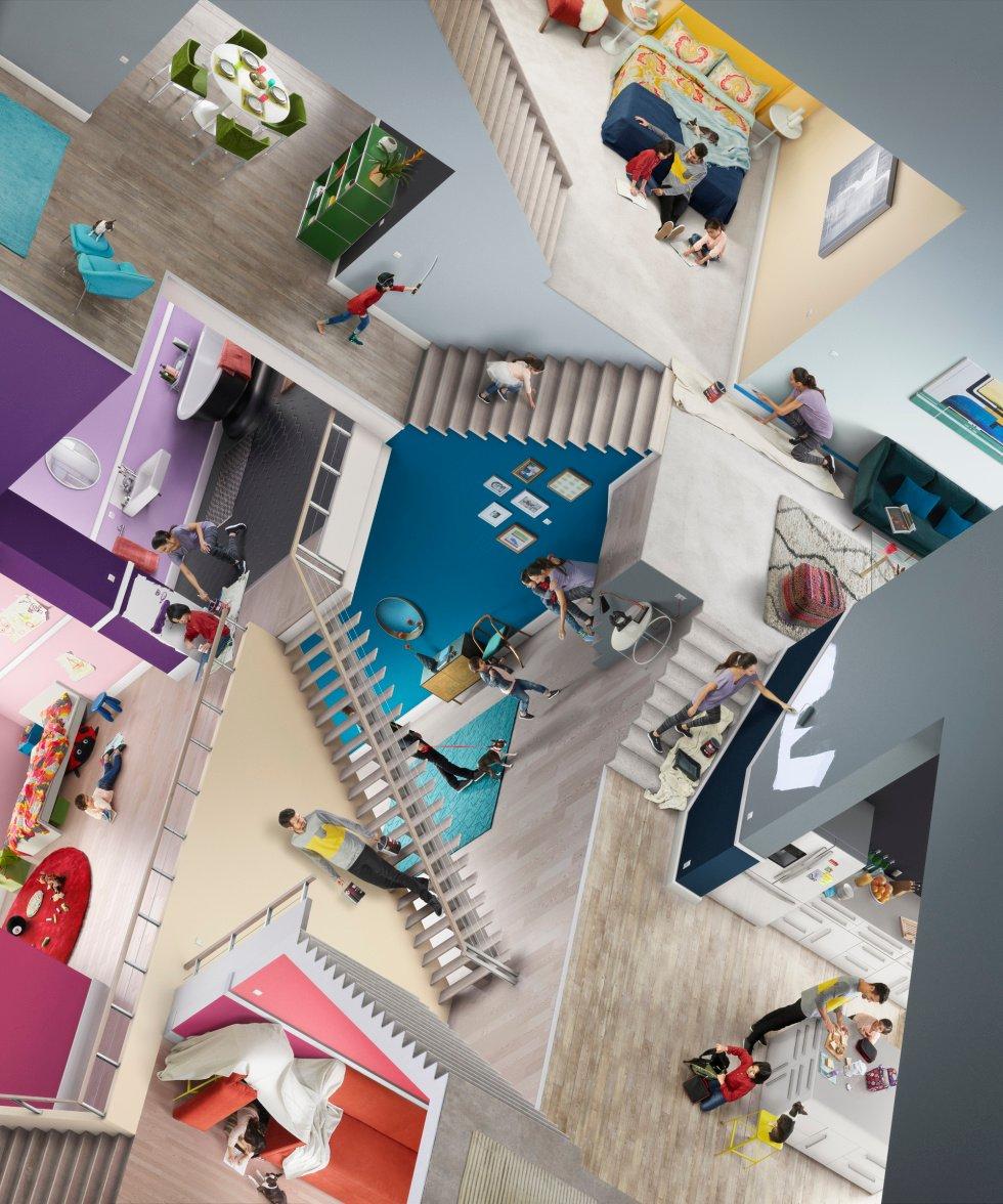 Sherwin-Williams Escher Staircase small image