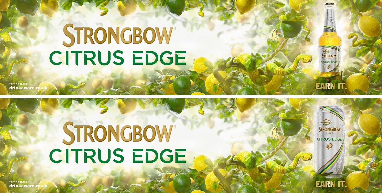 Strongbow Citrus Edge final 4
