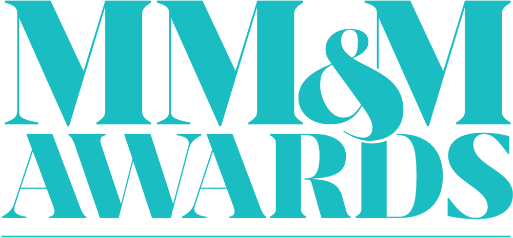 MM&M Award blue logo